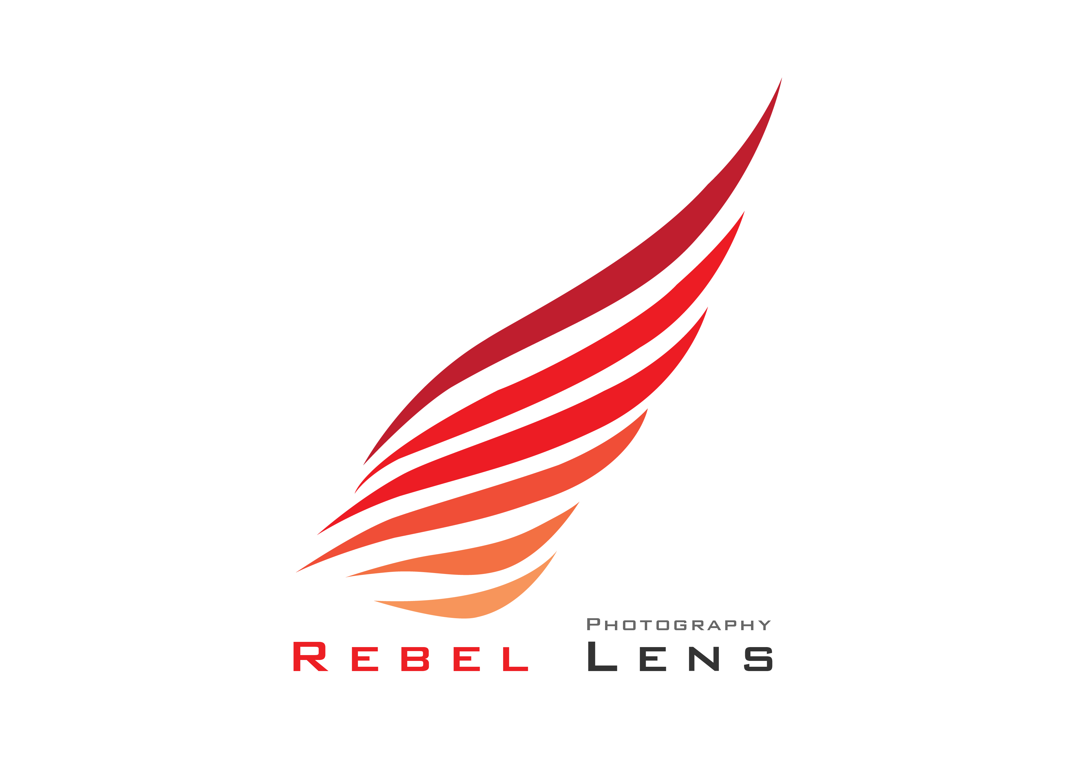 Rebel Lens Photography Logo Icon And Brand Identity